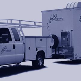 Mobile Ozone Sparge Unit